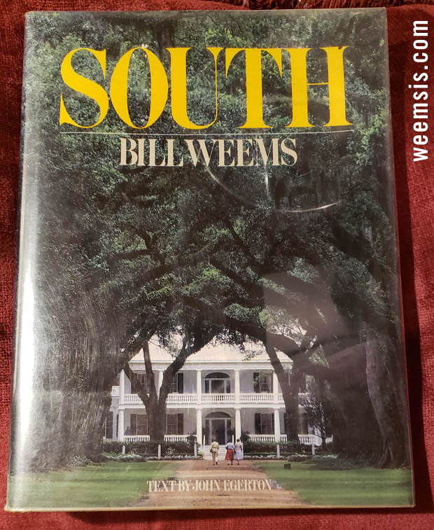 South by Bill Weems - Books of photography - 1987